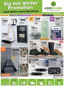 Agrimark : Big Hot Winter Promotion (22 June - 18 July 2020)