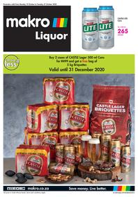 Makro : Liquor (SAB) (19 October - 27 October 2020)