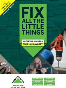 Leroy Merlin : Fix All The Little Things (8 January - 2 February 2021)