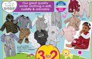 Clicks Made 4 Baby Winter Clothing Items-Each