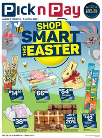 Pick n Pay : Easter Sweets & Treats (08 March - 05 April 2021)