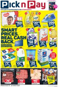 Pick n Pay  Gauteng, Free State, North West, Mpumalanga, Limpopo and Northern Cape : Weekly Catalogue (15 March - 22 March 2021)