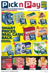 Pick n Pay  Gauteng, Free State, North West, Mpumalanga, Limpopo and Northern Cape : Weekly Catalogue (22 February - 28 February 2021)