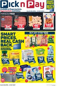 Pick n Pay Gauteng, Free State, North West, Mpumalanga, Limpopo, Northern Cape : Weekly (26 April - 02 May 2021)