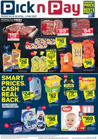 Pick n Pay Gauteng, Free State, North West, Mpumalanga, Limpopo, Northern Cape : Weekend Deals (29 April - 02 May 2021)