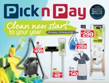 Pick n Pay : Spring Clean (20 Jan - 09 Feb 2020)