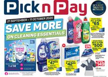 Pick n Pay : Spring Clean Savings (21 September - 11 October 2020)