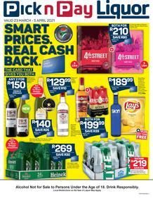 Pick n Pay : Liquor (23 March - 05 April 2021)