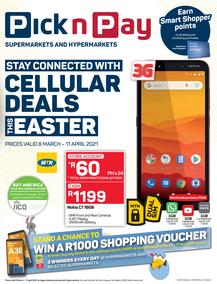 Pick n Pay : Easter Cellular (08 March - 11 April 2021)