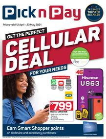 Pick n Pay : Cellular (12 April - 23 May 2021)