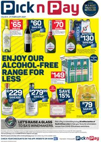 Pick n Pay : Non-Alcoholic (08 February - 21 February 2021)