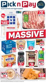 Pick n Pay Western Cape  : Massive One Day Sale (31 May 2019 Only!)