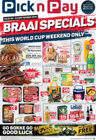 Pick n Pay Western Cape : National Braai Weekend (20 Sep - 24 Sep 2019)