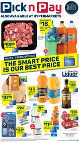 Pick n Pay Western Cape : The Smart Price Is Our Best Price (6 Feb - 9 Feb 2020)