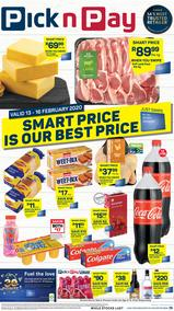 Pick n Pay Western Cape : Smart Price Is Our Best Price (13 Feb - 16 Feb 2020)