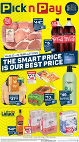 Pick n Pay Western Cape : This Weekend! (20 Feb - 23 Feb 2020)