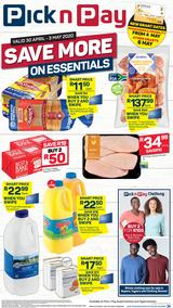 Pick n Pay Western Cape :  Save More On Essentials This Weekend (30 April - 03 May 2020)