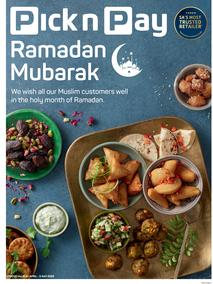 Pick n Pay Western Cape : Ramadan Mubarak (20 April - 03 May 2020)