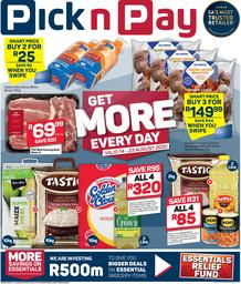 Pick n Pay Western Cape : Get More Savings (14 August - 23 August 2020)