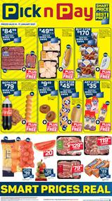 Pick n Pay Western Cape :  Massive Weekend Deals (14 January - 17 January 2021)