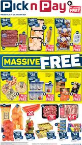 Pick n Pay Western Cape :  Mega Value Weekend Deals (21 January - 24 January 2021)