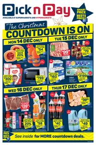 Pick n Pay Western Cape : The Christmas Countdown Is On (14 December - 20 December 2020)