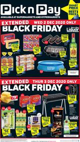 Pick n Pay Western Cape : Black Friday Weekend (04 December - 06 December 2020)