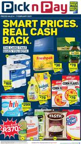 Pick n Pay Western Cape : Weekend Deals (04 February - 06 February 2021)
