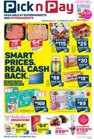 Pick n Pay Western Cape : Weekly Catalogue (08 February - 14 February 2021)