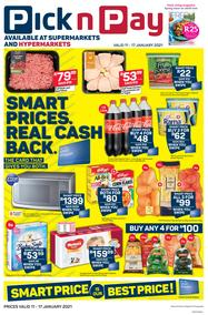 Pick n Pay Western Cape : Smart Price Is Our Best Price (11 January - 17 January 2021)