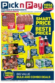 Pick n Pay Western Cape : The Smart Price Is Our Best Price (28 December - 3 January 2021)
