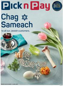 Pick n Pay Western Cape : Passover (15 March - 05 April 2021)