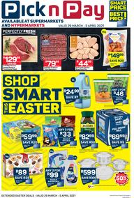 Pick n Pay Western Cape : Shop Smart This Easter (29 March - 05 April 2021)
