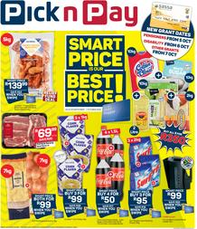Pick n Pay Kwazulu-Natal : More Smart Price Savings (28 September - 07 October 2020)