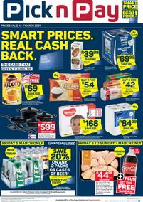 Pick n Pay Kwazulu-Natal :  Weekend Deals (04 March - 07 March 2021)