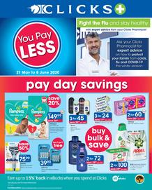 Clicks : You Pay Less (21 May - 8 June 2020)
