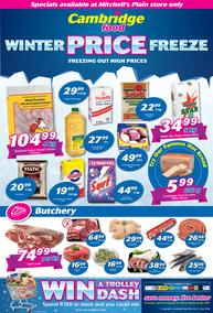 Cambridge Food Mitchells Plain : Winter Price Freeze (25 June - 8 July 2018)
