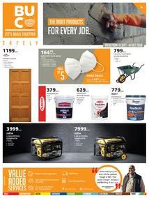 Buco Namibia : The Right Products For Every Job (15 September - 4  October 2020)