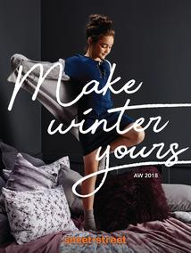 Sheet Street : Make Winter Yours (21 May - 8 June 2018)