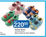 Shoo Shoos Soft Sole Shoes-Per Pair