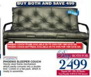 Collection Phoenix Sleeper Couch