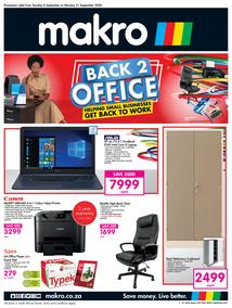 Makro : Office (08 September - 21 September 2020)