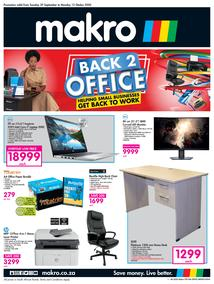 Makro : Back 2 Office (29 September - 12 October 2020)