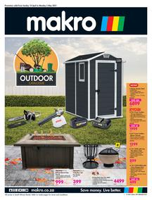 Makro : Outdoor (18 April - 03 May 2021)