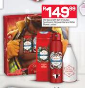 Old Spice Gift Set (Includes Deodorant, Shower Gel & Aftershave Lotion)