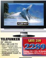 Telefunken FHD LCD TV-26