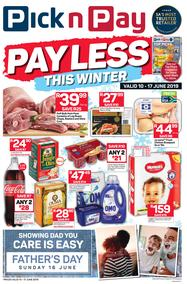 Pick n Pay Western Cape : Pay Less This Winter (10 June - 17 June 2019)
