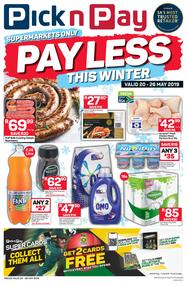 Pick n Pay Western Cape : Pay Less This Winter (20 May - 26 May 2019)