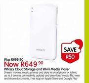 Special Whizzy Cloud Storage And Wi-Fi Media Player — www