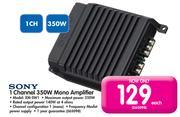 Special Sony 1 Channel 350W Mono Amplifier XM-SW1 — www guzzle co za